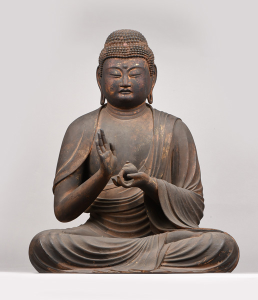 重要文化財 薬師如来坐像(法勝寺伝来) 鎌倉時代 西教寺蔵