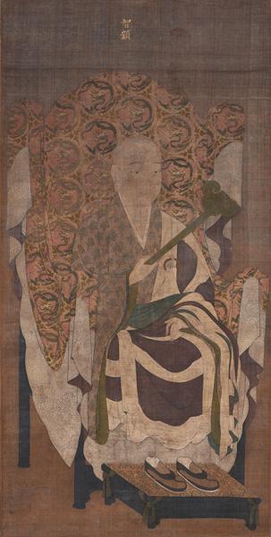重要文化財 天台大師像 中国・南宋時代 西教寺蔵 【展示期間:11月2日から11月23日まで】