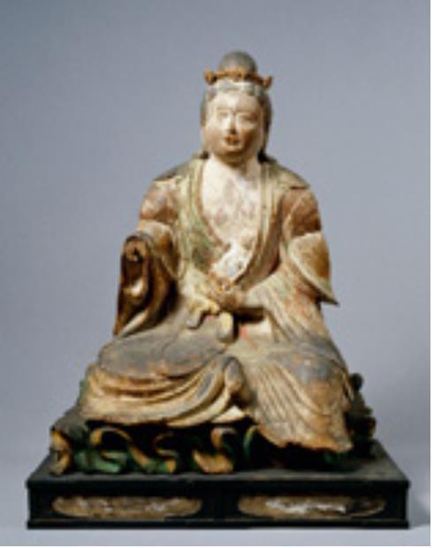 [重要文化財] 訶梨帝母坐像 平安時代後期・12世紀 奈良 東大寺