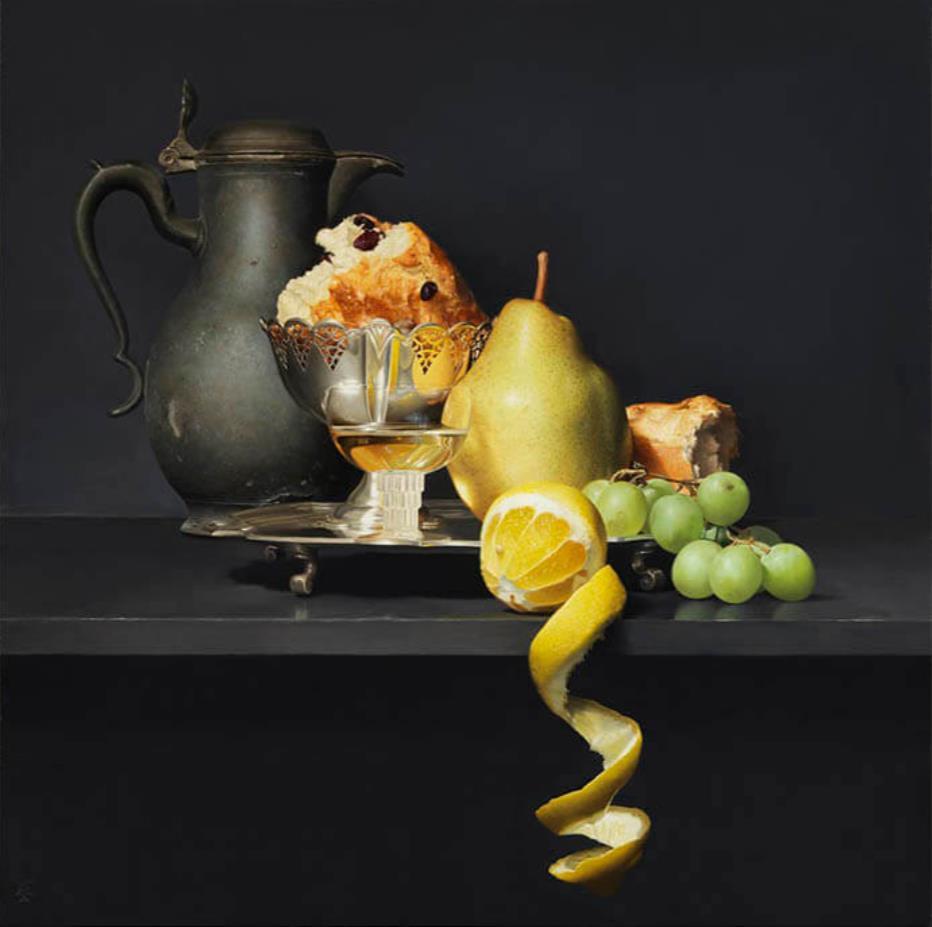 五味文彦《果物と銀食器》 2021 年