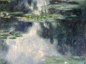 クロード・モネ《睡蓮の池》 1907年 油彩・カンヴァス イスラエル博物館蔵