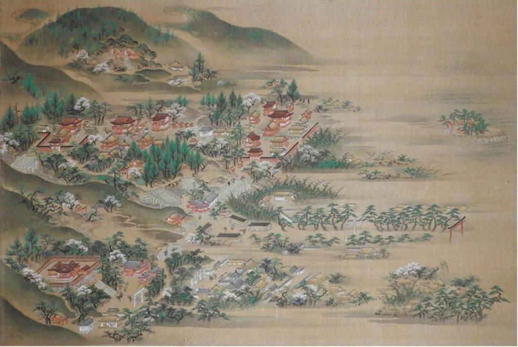《江洲日吉山王景図》 江戸時代中期(18 世紀)