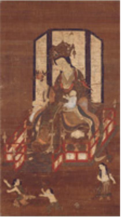 訶梨帝母像 鎌倉時代・14世紀 奈良県立美術館 <前期>