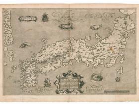 ブランクス/モレイラ「日本図」1617年 ゼンリンミュージアム所蔵